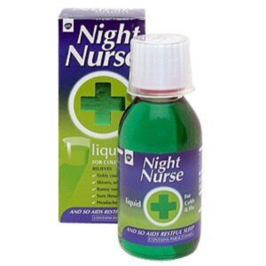 Night Nurse Liquid For Cold And Flu
