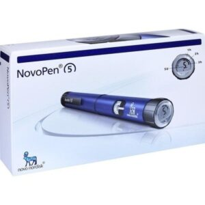 Novopen 5 Silver Insulin Pen Device
