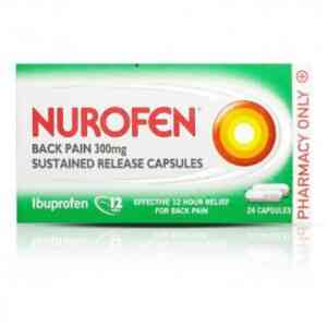 Nurofen 300mg Back Pain Sustained Release Capsules, 24 Capsules