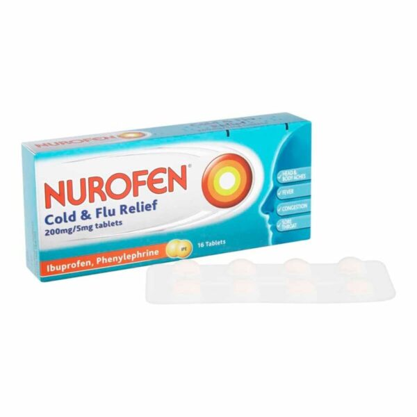 Nurofen Cold And Flu Relief Tablets