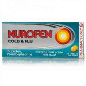 Nurofen Cold And Flu Relief Tablets, 24 Tablets