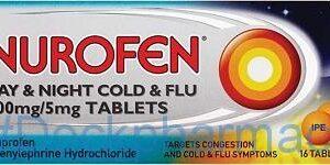 Nurofen Cold & Flu Day & Night Relief, 16 Tablets
