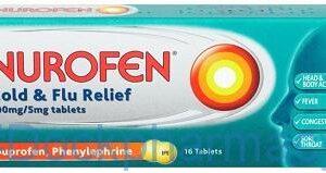 Nurofen Cold & Flu Relief, 16 Tablets