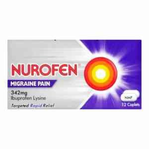 Nurofen Migraine Pain 342mg Tablets,12 Tablets