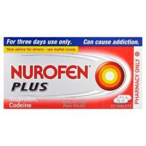 Nurofen Plus Tablets 32 Tablets #Dockpharmacy