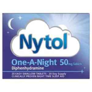 Nytol One A Night 50mg, 20 Tablets