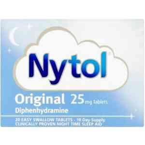 Nytol Original 25mg Tablets, 20 Tablets