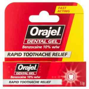 Orajel Dental Gel Toothache Relief Gel