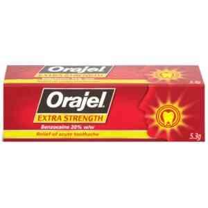 Orajel Extra Strength Dental Gel - Toothache Relief Gel