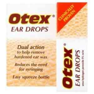 Otex Ear Drops Ear Wax Removal Drops