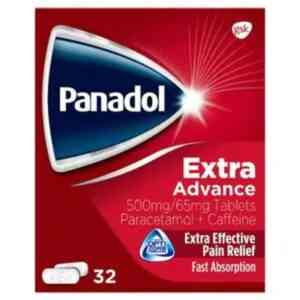 Panadol Extra Advance Pain Relief, 32 Tablets