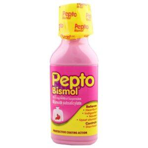 Pepto Bismol Oral Suspension For Stomach Upset