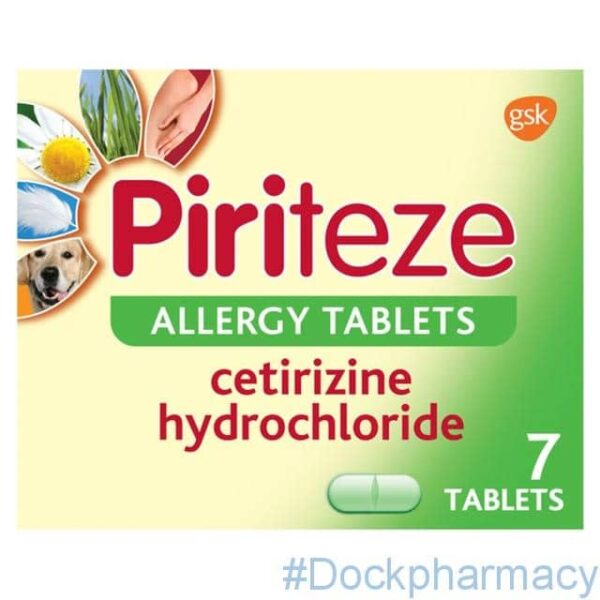 Piriteze Allergy One A Day 10mg tabs