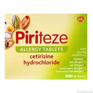 Piriteze Allergy Tablet
