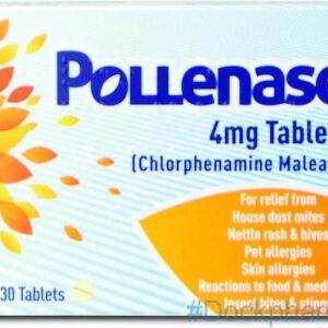 Pollenase Chlorphenamine, 30 Tab