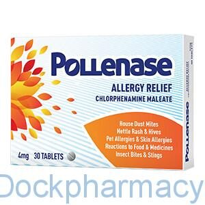 Pollenase Chlorphenamine tabs