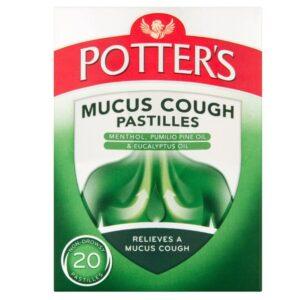 Potters Mucus Cough Pastilles