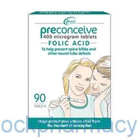 Preconceive Folic Acid Tablets 400mcg