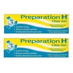 Preparation H Clear Gel, 50g