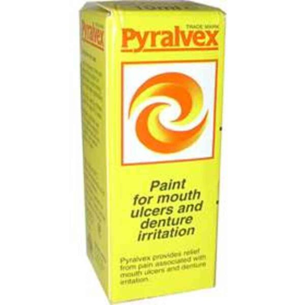 Pyralvex Solution - Mouth Ulcer Solution