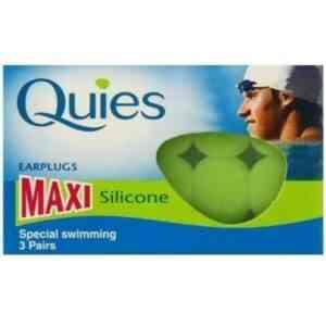 Quies Maxi Silicone Swimming Earplugs