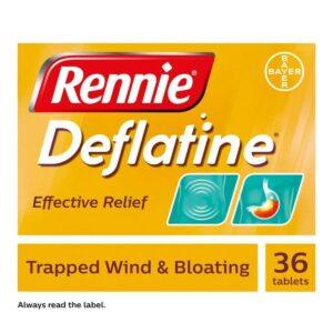 Rennie Deflatine Chewable Tablets