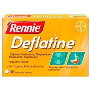 Rennie Deflatine Trapped Wind Tablets,