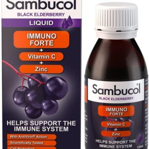 Sambucol Natural Black Elderberry Immuno Forte