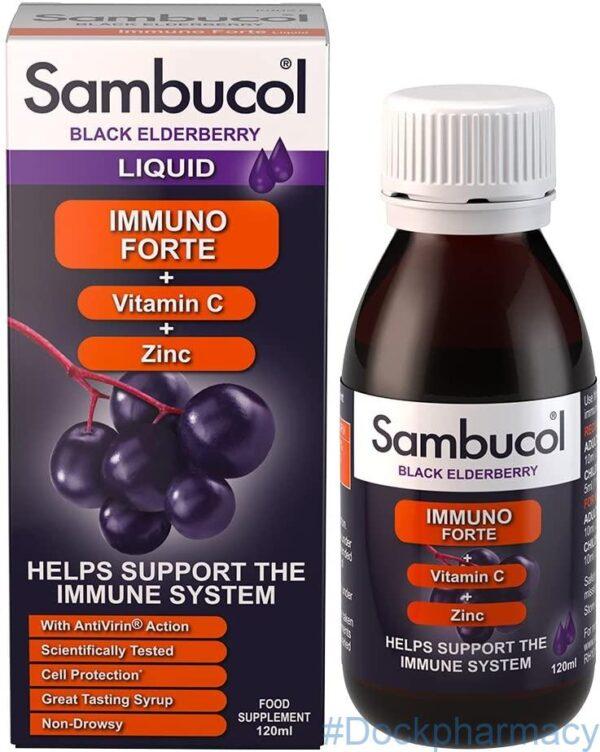 Sambucol Natural Black Elderberry Immuno Forte
