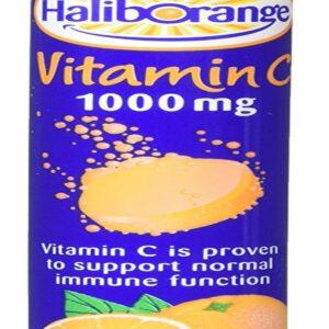 Haliborange Effervescent Vitamin C tablets Orange