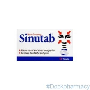 Sinutab tablets