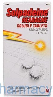 Solpadeine headache