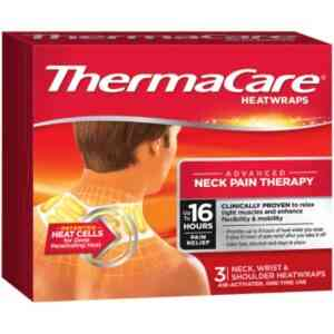 ThermaCare Advanced Neck Wrist & Shoulder Pain Therapy HeatWraps