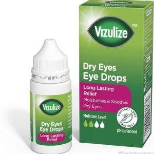 Vizulize lubricating Dry Eye Drops