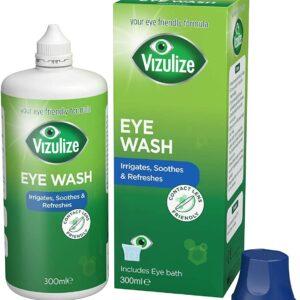 Vizulize contact lens freindly Eye Wash