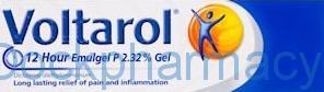 Voltarol Emugel 12 Hour P, 180g Gel, [2.32%]
