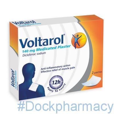 Voltarol Medicated Plasters 140mg
