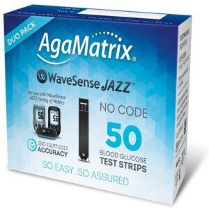 WaveSense Jazz Duo No coding Test Strips