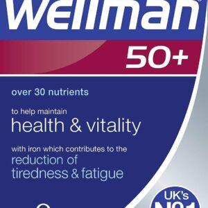 Wellman 50+Multivitamins Vitabiotics