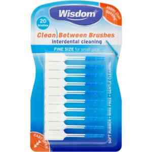 Wisdom Clean Between Brushes Interdental Brushes Fine Size