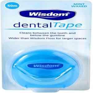 Wisdom Interdental Dental Tape Mint