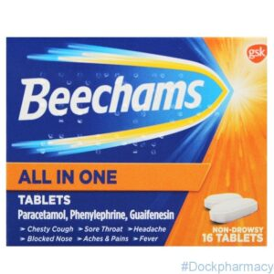 beechams all in one tablet for flu
