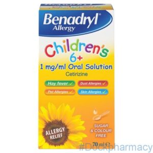 Benadryl children 6+ 70ml