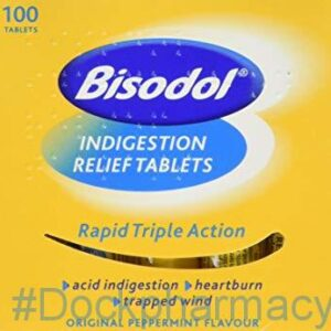 Bisodol tablets indigestion tablets