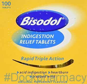 Bisodol tablets indigestion tablets