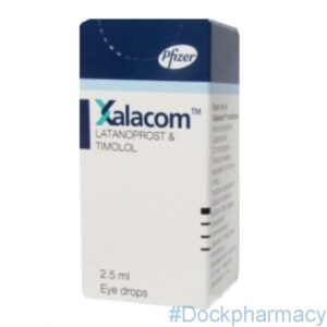 Xalacom latanoprost and timolol eye drops