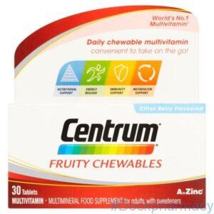 CENTRUM ADVANCE Fresh and Fruit Multivitamin Tablets