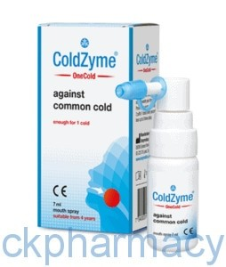 coldzyme mouth spray 20ml