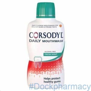 CORSODYL DAILY MOUTHWASH FRESH MINT ALCOHOL FREE