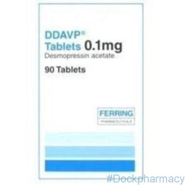 DDAVP desmopressin acetate 0.1mg tablets